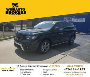 Practicality New 18 Dodge Journey Croasroad for Sale in Stone Mountain, GA