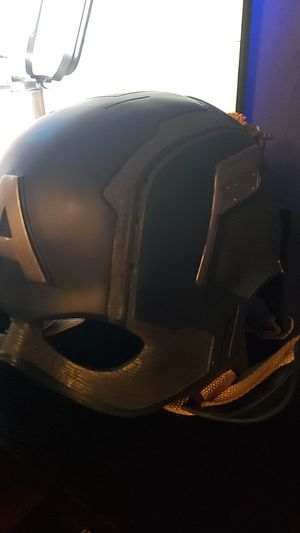 Captain America Cosplay Helmet for Sale in Fontana, CA