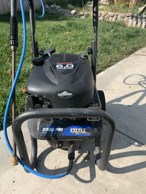Briggs and Stratton 6 horse power pressure washer. Excellent. for Sale in Arcadia, CA