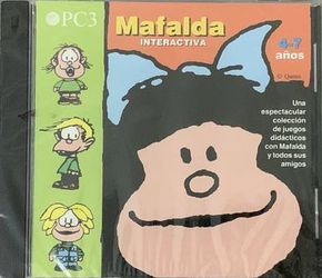New Sealed Mafalda Interactiva PC 3. Songs CD for Sale in Chapel Hill,  NC
