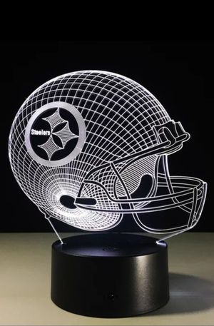 Pittsburgh Steelers NFL Night Light Lamp for Sale in Evesham Township, NJ