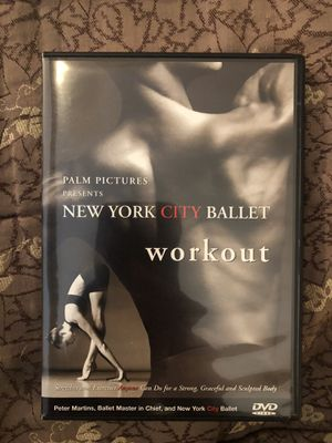 New York City Ballet Workout (Stretches and Exercises Anyone Can Do for a Strong, Graceful, and Sculpted Body) for Sale in Miami, FL