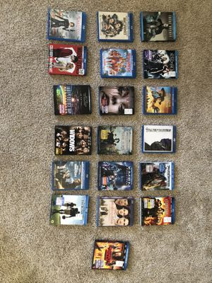 Blue Ray Movies (W/ digital Codes) for Sale in Wildomar, CA