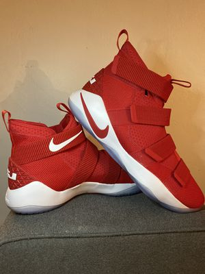 LeBron Soldier 11 TB 'University Red' SIZE 18! for Sale in Cutler Bay, FL