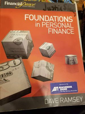 Foundations of Personal Finance by Dave Ramsey for Sale in Chicago, IL