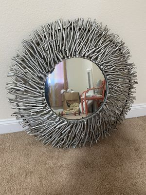 Silver Mirror for Sale in Norfolk, VA
