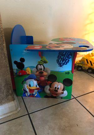 Mickey Mouse Desk for Sale in Hesperia, CA
