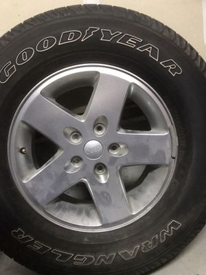Jeep wheels/tires for Sale in Tacoma, WA