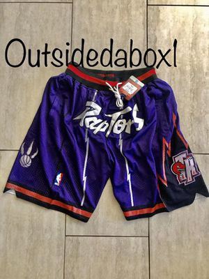 Toronto Raptors Purple Basketball Shorts Men's Size Small for Sale in Montclair, CA
