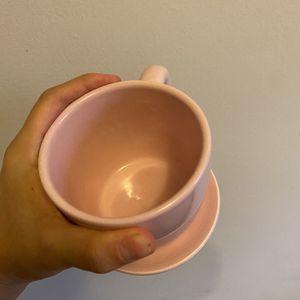 Tiny Light Pink Teacup Pot for Sale in Arlington, VA