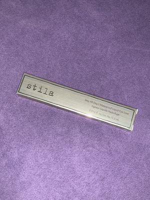 Brand new Stila Stay All Day Liquid Eyeliner for Sale in Bristow, VA
