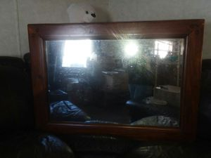 HUGE ANTIQUE MAHOGANY MIRROR FOR SALE! DISCOUNTED due to moving! EVERYTHING MUST GO! for Sale in LORING CM CTR, ME