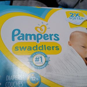 Newborn Pampers Swaddlers Box Brand New for Sale in Compton, CA