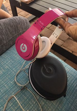 Pink studio beats for $80 for Sale in Tampa, FL