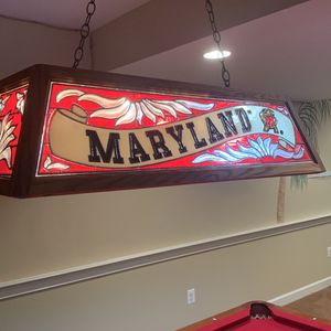 Stained Glass Pool Table Light for Sale in Glenwood, MD