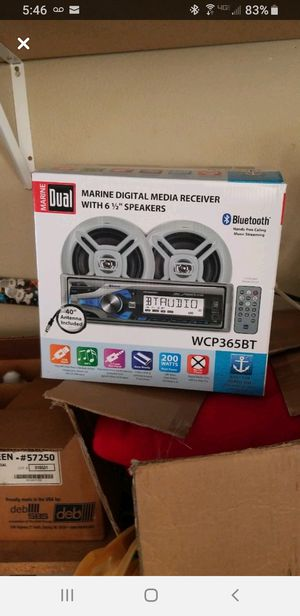 Boat / Outdoor Audio Speakers New for Sale in Dinuba, CA