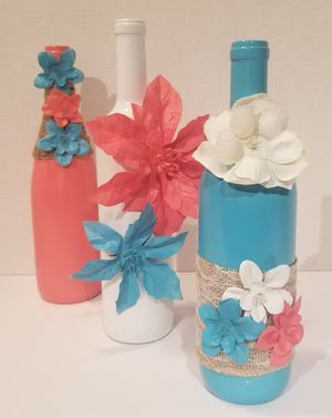Handmade candle/flower holder for Sale in Atlanta, GA