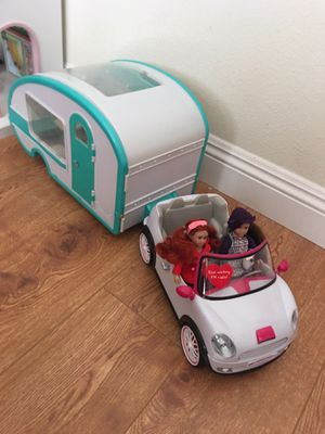 Lori doll car and camper! for Sale in Henderson, NV