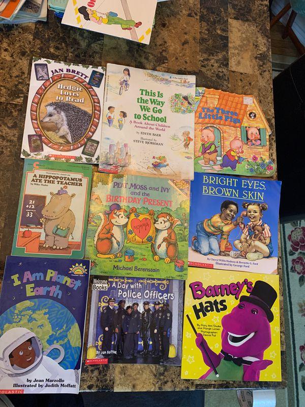 9 children books grade pre-K-1st Scholastics