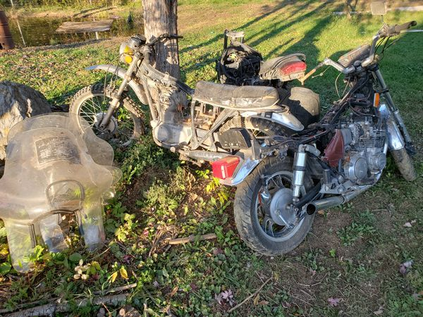 Honda, suzuki, yamaha motorcycles