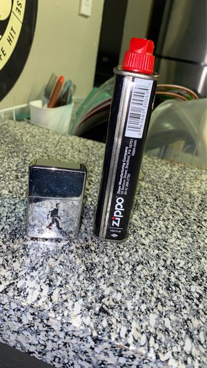 Zippo lighter and fluid for Sale in Garland, TX
