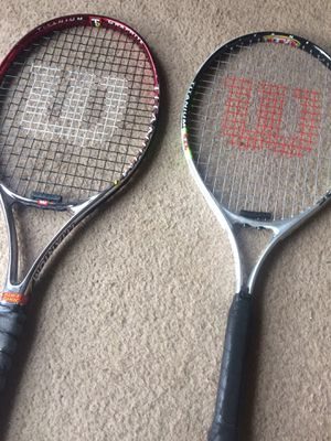 Tennis rackets for Sale in Poolesville, MD