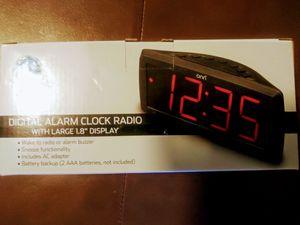 ONN. AM/FM Digital Alarm Clock Radio for Sale in Cleveland, OH