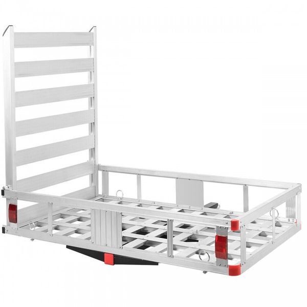 """50"""" x 29.5"""" Hitch-Mounted Mobility Cargo Carrier"""