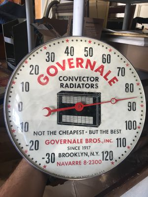 Antique pam clock thermometers for Sale in Huntington Beach, CA