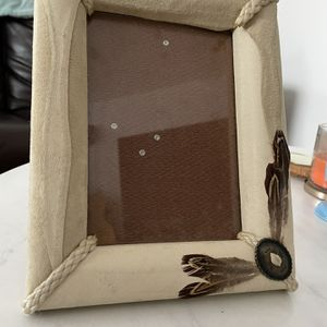 Vintage Leather 5x7 Picture Frame for Sale in Culver City, CA