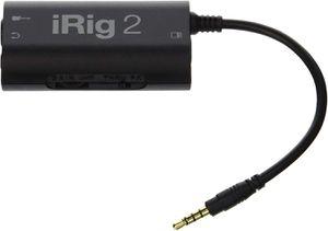 IK Multimedia iRig 2 Guitar Interface Adaptor for iPhone, iPod Touch & iPad IPIRIG2PLGIN for Sale in Riverside, CA