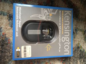 NEW, MicroSaver Keyed Retractable Notebook Lock for Sale in Clarksville, IN