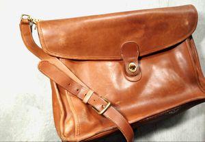 Authentic Leather Coach Messenger Bag for Sale in Phoenix, AZ