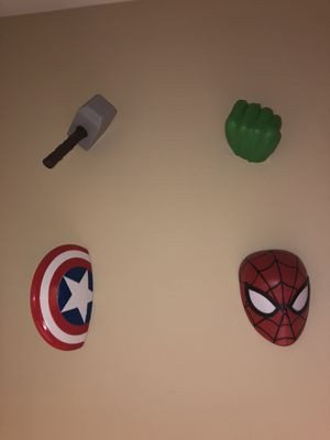 Marvel wall decor for Sale in Upland, CA