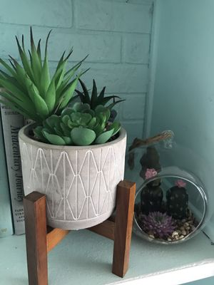 Artificial succulent set for Sale in Fresno, CA