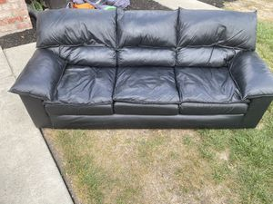 FREE leather sofa and coffee table for Sale in San Jose, CA