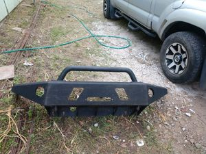 Steel bumper for toyota tacoma( winch plate) for Sale in Houston, TX