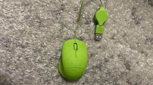 Neon green mouse usb Wired for Sale in Santa Ana, CA