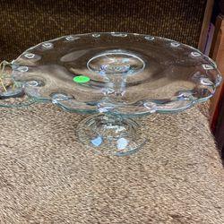 Cake platter for Sale in Carpentersvle, IL