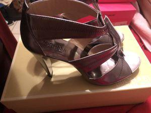 Michael Kors metallic heels for Sale in Lakeland, FL