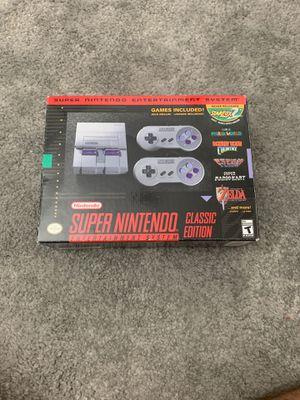 Super Nintendo Classic Edition NES for Sale in Reston, VA