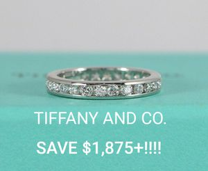 Tiffany & Co. Eternity Full Diamond Wedding Band Size 5 for Sale in Tampa, FL