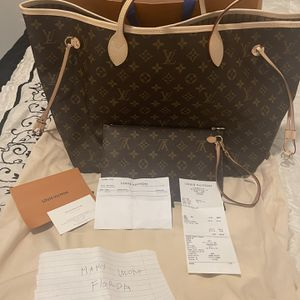 Authentic Louis Vuitton Neverfull Gm for Sale in Kissimmee, FL
