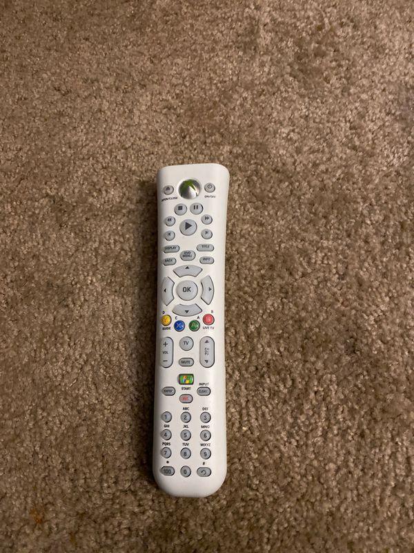 Xbox 360 DVD remote