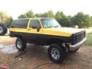 83 chevy gmc Blazer 4x4 off road trail rock crawler for Sale in La Grange, TX