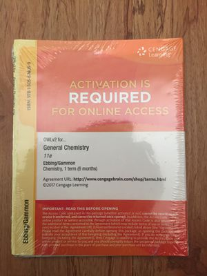 Cengage Learning General Chemistry 11e for Sale in West Palm Beach, FL