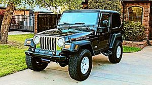 2004 Jeep Wrangler only been driven on the weekends for Sale in Arlington, TX