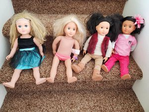 18 inch doll lot for Sale in Keizer, OR