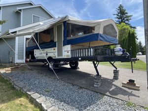 2010 Flagstaff Forest River Popup Trailer w/Toy Hauler for Sale in Kent, WA