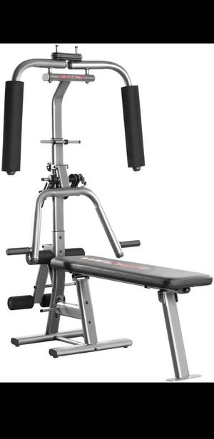 Home gym bench press trade for PS4 or weights for Sale in Las Vegas, NV